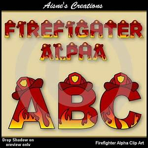 1000 images about firefighter clip art on pinterest With firefighter letter art