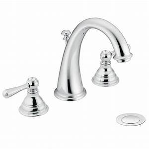 Moen Single Handle Kitchen Faucet With Pullout Spray