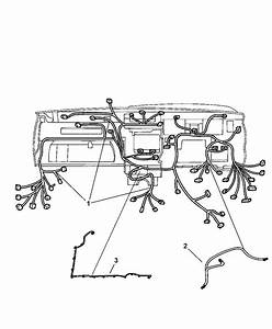 1989 Jeep Cherokee Instrument Panel Wiring