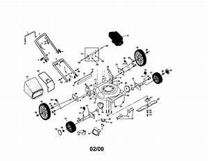 Craftsman Craftsman 6 25hp 21 U0026quot  Rotary Lawn Mower Parts