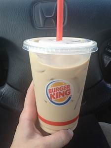 A Burger King Iced Coffee Story