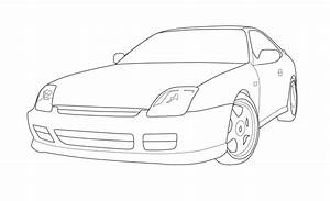 1999 Honda Prelude Vector By Krazykohla On Deviantart