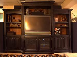 Handmade Entertainment Center by Terry's Fine Woodworking