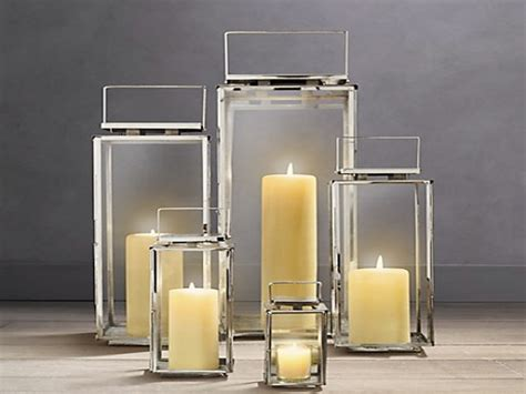 Outdoors Lanterns : Outdoor Lantern For Candles, Modern Outdoor Candle