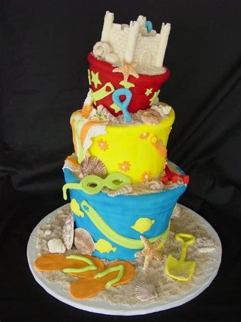 images  beachsea cakes  pinterest beach