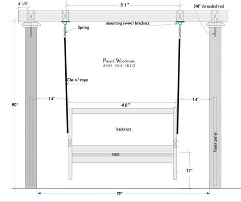 front porch dimensions installing your front porch swing
