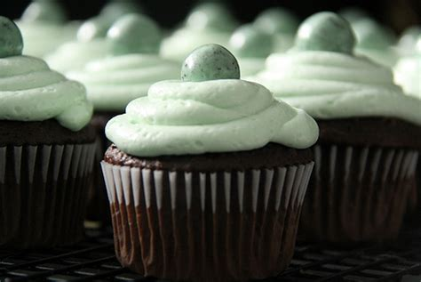 creme de mint cup cakes food styling  diana