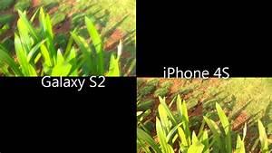 iPhone 4S vs. Galaxy S2: Camera - YouTube