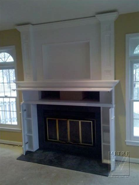 tv above fireplace where to put components mantels and ideas on
