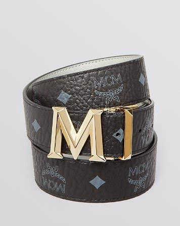 m designer belt mcm belt new m auto reversible bloomingdale s