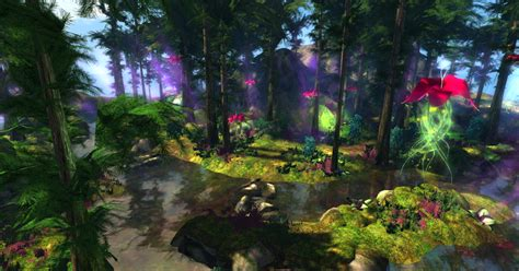virtual dream travel enchanted forests