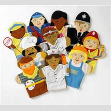 Hand Puppet Set  Careersjobs (set Two) New