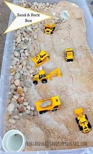 Spiele Für Kleinkinder Drinnen : diy sand and rock box basteln pinterest kinder spiele und kindergarten ~ Frokenaadalensverden.com Haus und Dekorationen