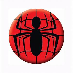 Spiderman Symbol Button