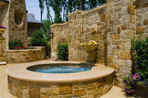 19+ Outdoor Fountain Designs, Ideas  Design Trends