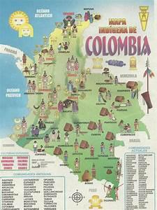 Indigenas De Colombia Mapa