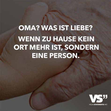 Oma? Was Ist Liebe? Wenn Zu Hause Kein Ort Mehr Ist