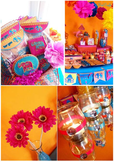 A Vibrant Bollywood Inspired Party  Thoughtfully Simple