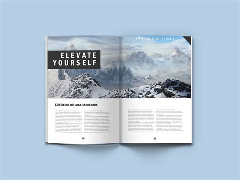 Within our free and customizable magazine mockups, you'll save a lot of time and effort. A4 Magazine Mock Up #free #psd #mockup #a4 #magazine ...