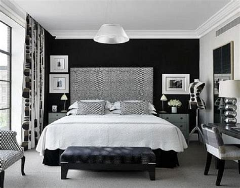 wall painting designs black and white black and white bedroom accent wall paint ideas blue Bedroom