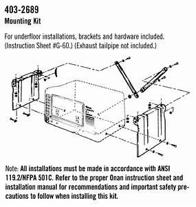 Microlite 2800 Under Floor Mounting Kit