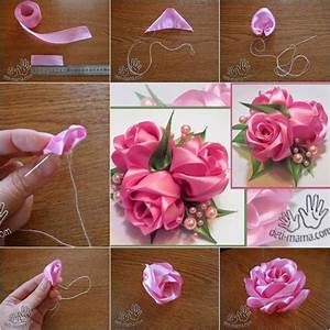1331 best images about D.I.Y fabric flowers on Pinterest ...
