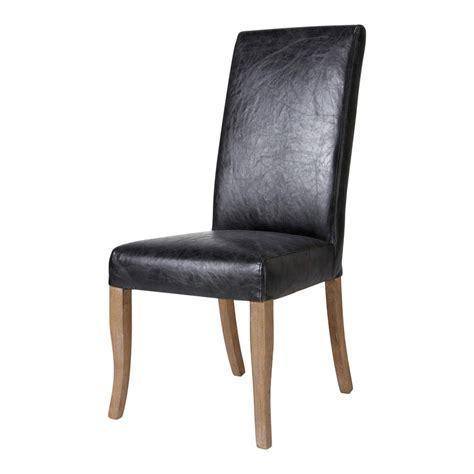 chaises cuir housse de chaise en cuir 28 images chaise en cuir et