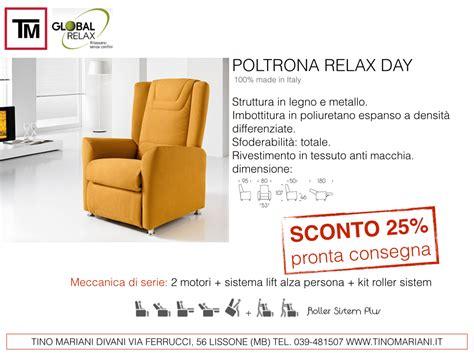 offerte poltrone relax divani tino mariani offerte poltrone relax