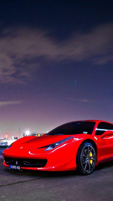 Ferrari wallpaper 4k iphone free download. Red Ferrari Sports Car Wallpapers - Wallpaper Cave
