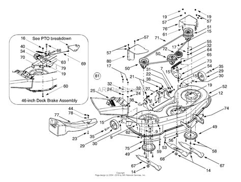 cub cadet lt1050 deck parts wiring diagram database