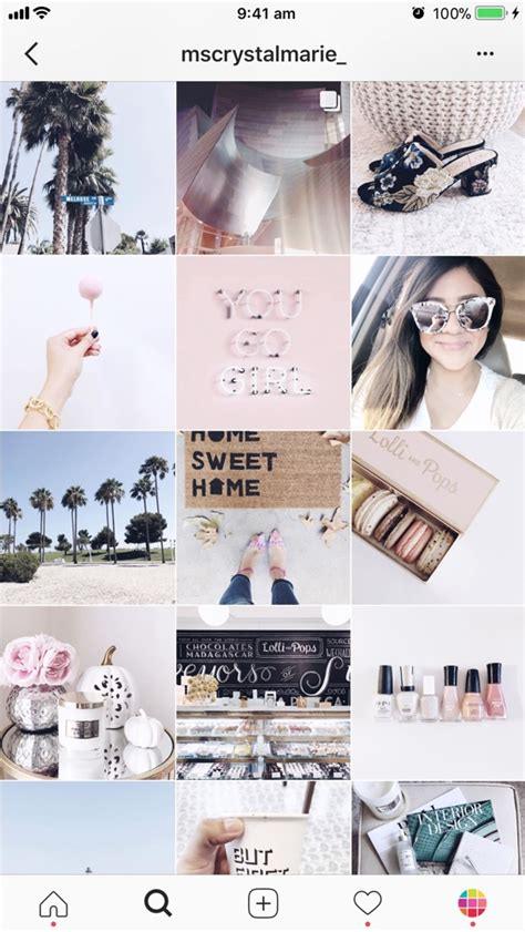 types  instagram grid layouts planner tips
