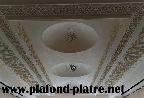 Décoration De Salon Marocain Moderne Plafond En Plâtre
