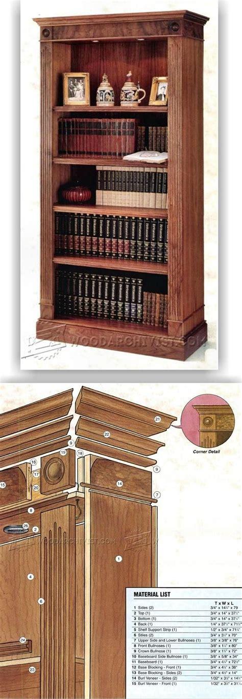 bookcase plans ideas  pinterest build