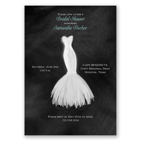 wedding fashion bridal shower invitation invitations  dawn