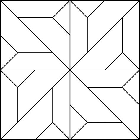 Free coloring pages of tangram