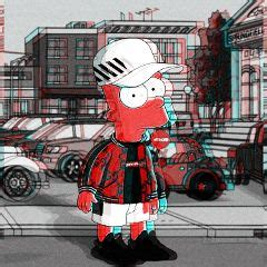 awesome bart simpson images  picsart