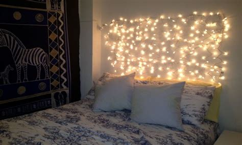 Make My Bedroom, Diy Bedroom Lighting Ideas With Christmas