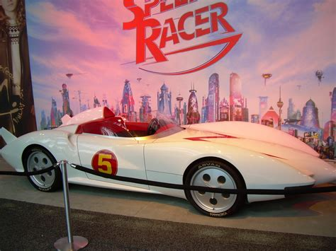 Hey!! It's The Mach 5 From Speed Racer!! And It Looks
