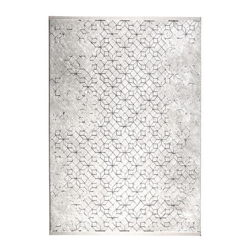 tapis et blanc tapis motifs g 233 om 233 triques noir et blanc yenga zuiver