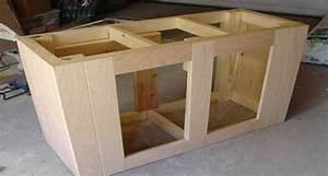 Building A Aquarium Stand