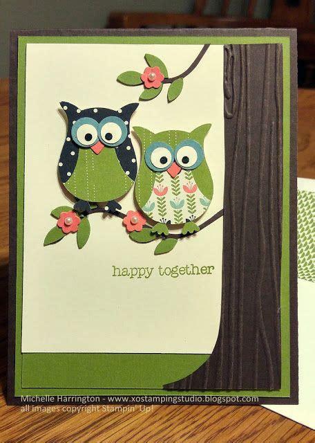 happy  owl anniversary card su stampin