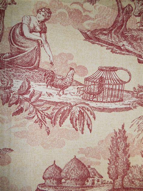 le telerie toscane table linen le telerie toscane cotton tablecloth printed toile red