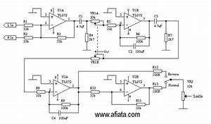 Low Pass Audio Filter Circuit