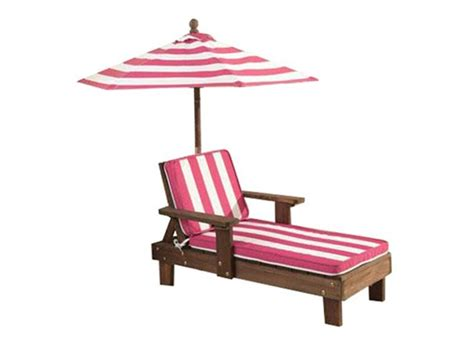 kid s outdoor chaise lounger umbrella toys