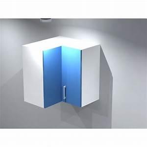 Meuble D Angle Haut Cuisine : meuble haut d 39 angle pour cuisine ~ Teatrodelosmanantiales.com Idées de Décoration
