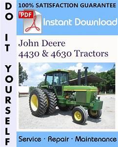 John Deere 4430  U0026 4630 Tractors Technical Manual