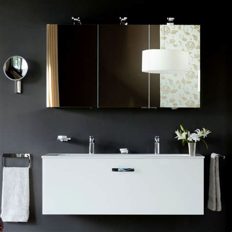 Mirrored Bathroom Cabinets by Keuco Royal Universe Illuminated Mirror Cabinet Uk Bathrooms