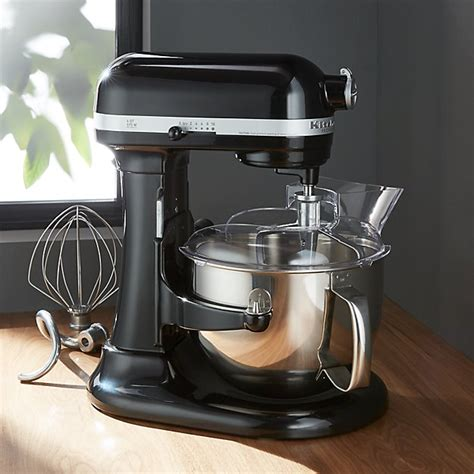 kitchenaid professional  onyx black stand mixer