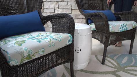 no sew patio cushion covers home furniture design
