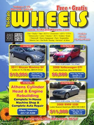 Boat Motor Repair Chattanooga Tn by Tri State Wheels Issue 5 E Edition By Tri State Wheels